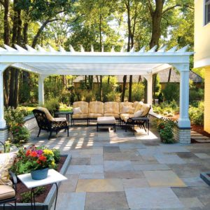 Bluestone-Patio-Pergola