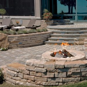 Firepit-Steps-Wall