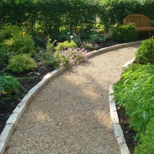 Gravel-Pathway