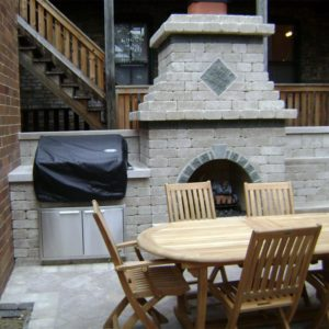 Grill-Fireplace
