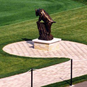 Sports-Field-Statue