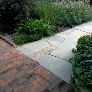 Stone-Path-from-Brick-Drive